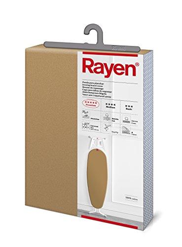 Rayen Funda para Planchar Ajustable 6143.02, Algodón, Dorado, 130x47 cm