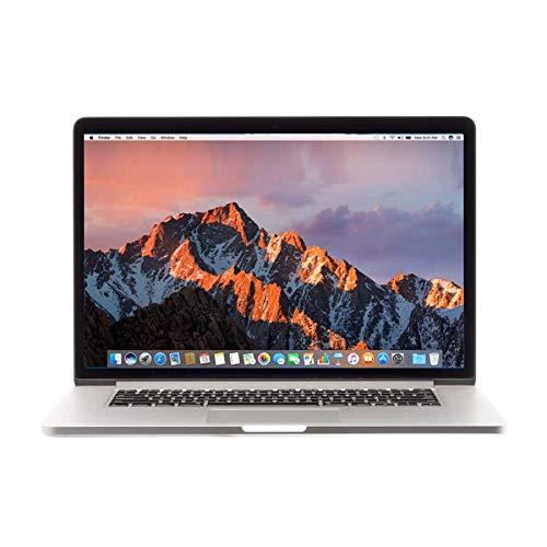 Apple MacBook Pro 15' (Early 2013) Core i7-3635QM, 2,4GHz, 8GB RAM, 256GB SSD, Silver - (Renewed)