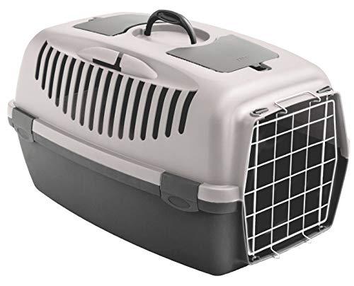 Stefanplast Karlie Gulliver 2 Cage de transport pour chien ou chat Rose poudré