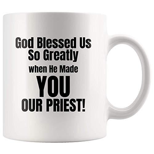 Regalos para Pastor/Sacerdote Dios nos bendijo tan grandemente cuando