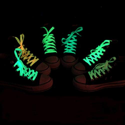 YCEOT Nachtlampje Led Schoeisel Mode Licht Up Groen Casual Sneaker Schoen Veters Disco Party Night Gloeiende Schoenen Snaren