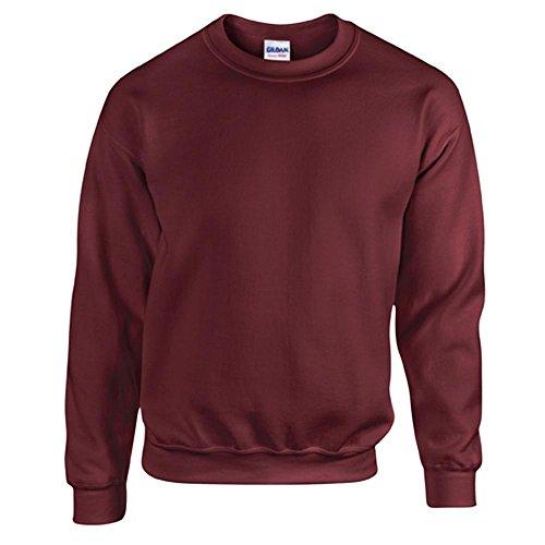 Gildan Heavy Blend Erwachsenen Crewneck Sweatshirt 18000 M, Maroon