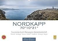 Nordkapp - Norwegens Kuestenlandschaft (Wandkalender 2022 DIN A2 quer): 12 eindrucksvolle Motive von Norwegens Kuestenstaedte und Landschaften. (Monatskalender, 14 Seiten )