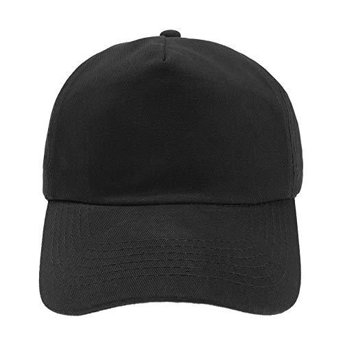 MFAZ Morefaz Ltd Jugend Baseball Kappe Kinder Mütze Basecap Mädchen Junge (Black)