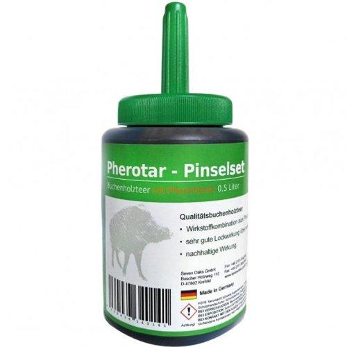 Pherotar - Buchenholzteer Pinselset