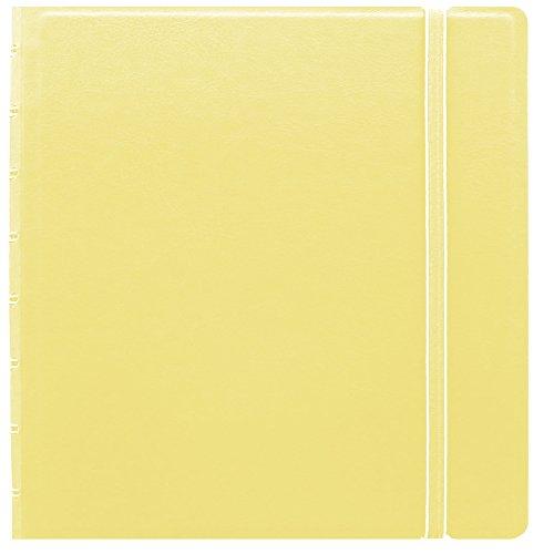 Filofax A5 refillable notebook lemon