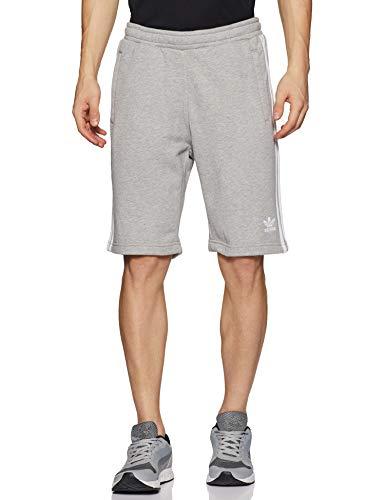 adidas Herren 3-Stripe Sport Shorts, medium Grey Heather, XL