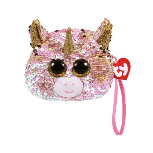 TY Unisex kinder Fantasia Unicorn portemonnee, meerkleurig, één maat