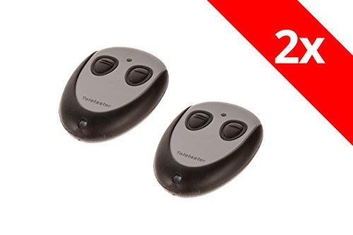 2 Tedsen Teletaster SKX2WD Handsender Original Garagentoröffner Funk Fernbedienung Elka Berner GfA 433 Mhz Codierschalter
