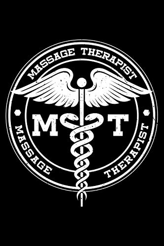 Massage Therapist: Massage Therapy, M.T Lined Notebook Journal Diary 6x9