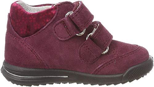 Superfit Baby Mädchen Avrile Mini Sneaker, Rot (Rot 50), 23 EU