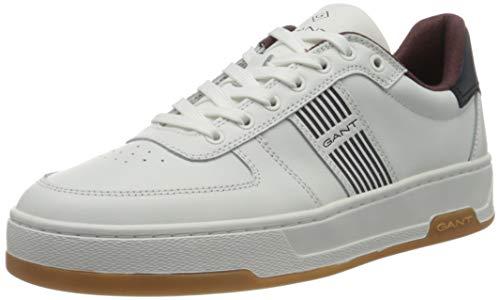 GANT FOOTWEAR Herren SAINT-BRO Sneaker, Off White, Off White, 44