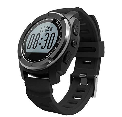 Zhicaikeji Smart Watch S928 Bluetooth Sports de Plein air Watch GPS Sports Professional Watch Bluetooth Smart Watch (Color : Noir)
