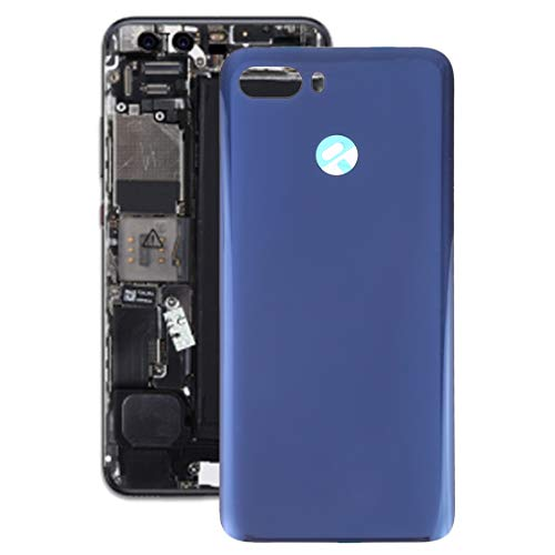 Dmtrab Battery Back Cover for Lenovo K5 Play(Black) Repair Parts Back Cover (Color : Blue)