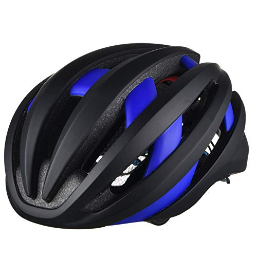 4.1 Bluetooth Bike Casco de Ciclismo Black & Bluete Tachable Advertencia Tras...