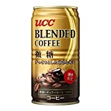 UCC ブレンドコーヒー 微糖 缶 185X30