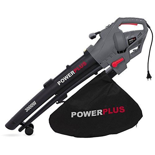 POWERPLUS POWEG9011 Souffleur/aspirateur de feuilles 3000 W