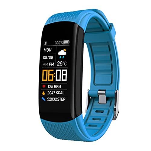 zyz C5s Smart Watch Pantalla Táctil Multifuncional, Impermeable, Rastreador De Fitness, Presión Arterial Y Monitoreo De Frecuencia Cardíaca, Pulsera Deportiva,G