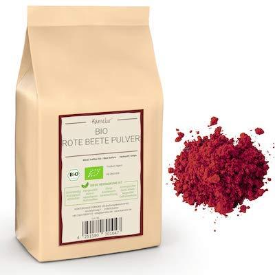 250g di polvere di barbabietola BIO, polvere vegetale BIO liofilizzata e senza additivi, colorante alimentare naturale al 100% - in confezione biodegradabile