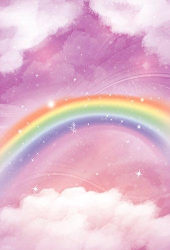 FiVan™-Sp 150x220cm Fotografía color de rosa del arco iris -niños fondo foto fotografía apoyos photography Fondo admiten FT-5680