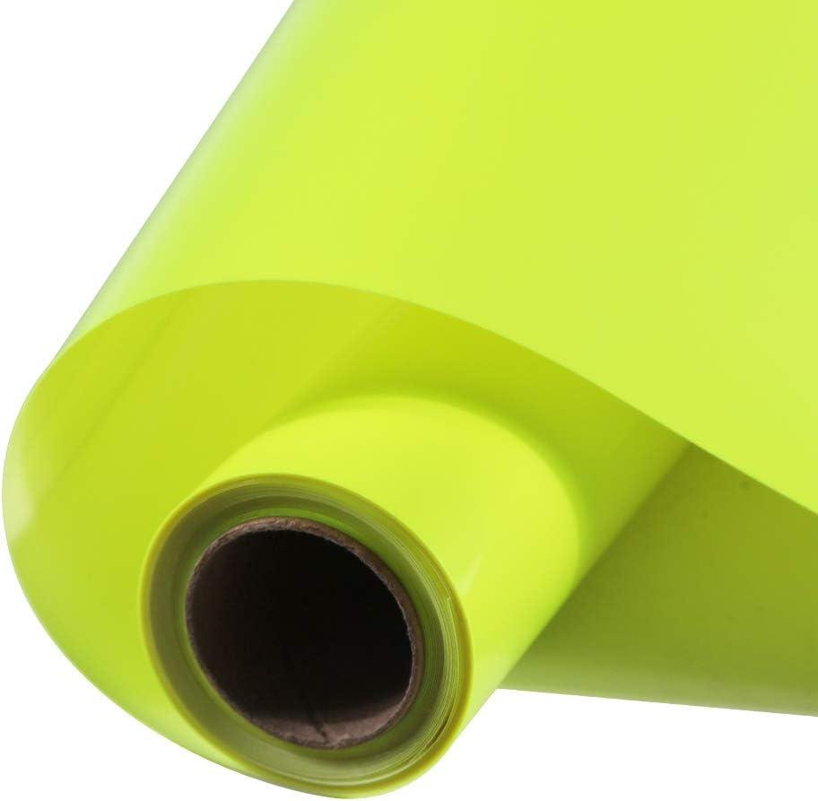 FUNKAKA Neon Fluorescent Heat Transfer Vinyl X Online limited product Rolls F 12 Large discharge sale Inch 9