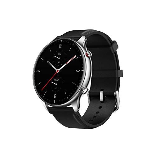 Amazfit GTR 2 Smartwatch Fitness Armbanduhr mit Bluetooth-Anruffunktion, 90 Sportmodi, Blutsauerstoffsättigungsmesser, 3GB Musikspeicher