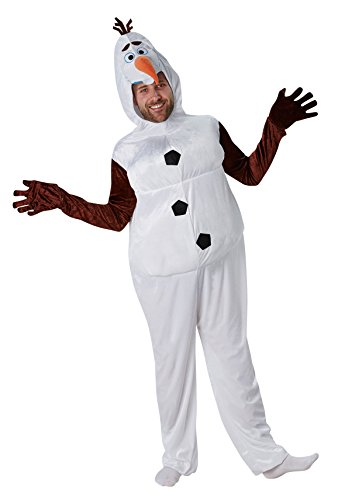 Rubie' s Costume adulto ufficiale Frozen Olaf–X-Large