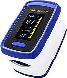 Ossimetro da Dito,Pulsossimetro da Dito Professionale, Sensore Digitale di...