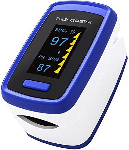 Scopri offerta per Ossimetro da Dito,Pulsossimetro da Dito Professionale, Sensore Digitale di Ossigeno Nel Sangue e Pulsazioni, con Allarme SPO2, per Uso Domestico, Fitness e Sport Estrem (Blu)