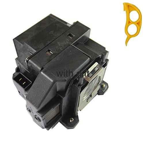 Lâmpada compatível com Lâmpadas MY ELPLP54 / V13H010L54 com invólucro para EPSON PowerLite Home Cinema 705HD; PowerLite S7/W7/S8+; EX31/EX51/EX71/H309A/H328B; EB-S7/X7/S72/S8/X8/S82/W7/W8/450