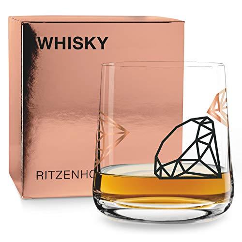 RITZENHOFF Next Whisky Whiskyglas von Paul Garland, aus Kristallglas, 250 ml