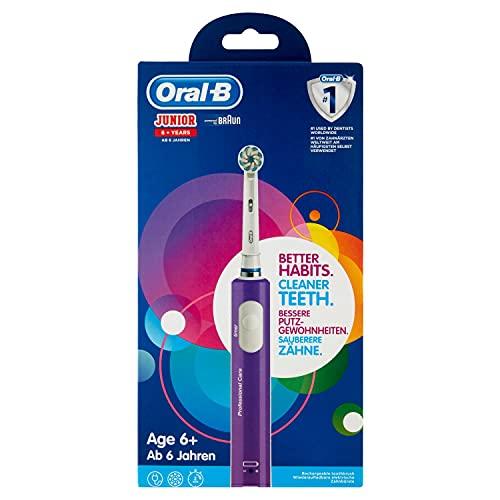 Cepillo de dientes eléctrico recargable Oral-B Junior ...