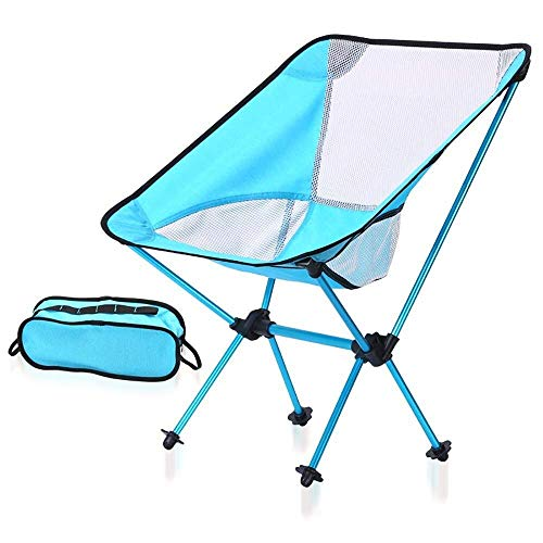 Ultra-light Garden Chair Folding Fishing Chair, Compact Portable Outdoor Chair With Tote Bag, Activity Camping Barbecue Beach Backpack For outdoor, indoor