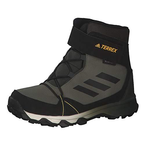 adidas Unisex-Kinder TERREX SNOW CF C.RDY K Traillaufschuh, Legacy Green Core Black Solar Gold, 33 EU