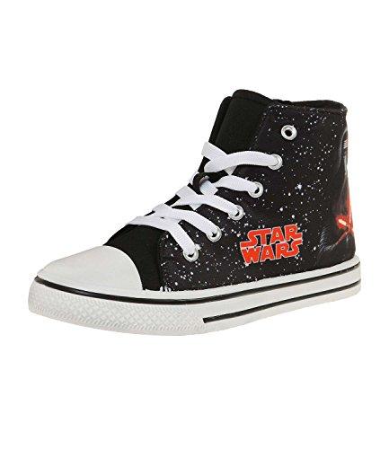 Star Wars-The Clone Wars Darth Vader Jedi Yoda Jungen Sneaker - schwarz - 32