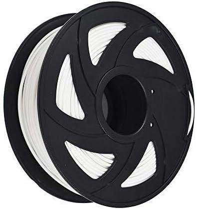 lowest 3D Printer Filament - 1KG(2.2lb) 1.75mm / 3 mm, online sale Dimensional online sale Accuracy PLA Multiple Color (White,1.75mm) online