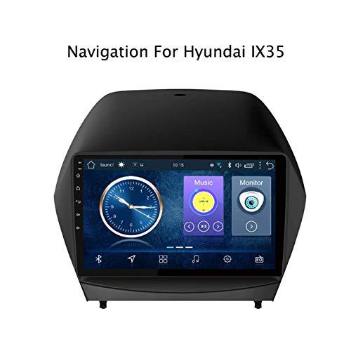 Sat NAV Für Hyundai Tucson / IX35 2010-2013 9 Zoll-Auto-Stereo-GPS-Navigationssystem Satellite Navigator Spieler Tracker WiFi Touch Screen Mirrorlink Bluetooth
