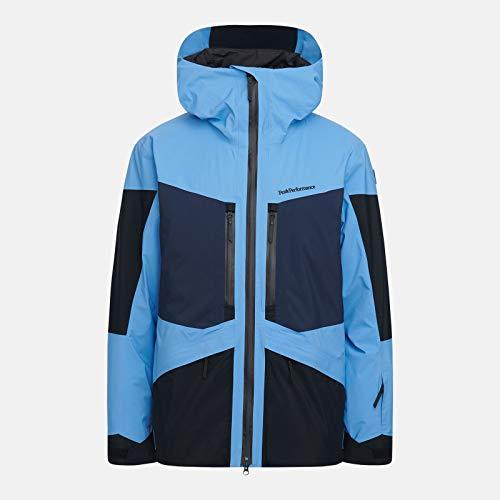 Peak Performance – Chaqueta de esquí y Snow M Gravity 2L para hombre, talla XXL, color azul