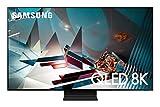 Samsung Q800T Smart TV 65' QLED 8K, Wi-Fi, 2020, Silver, Classe di Efficienza Energetica D