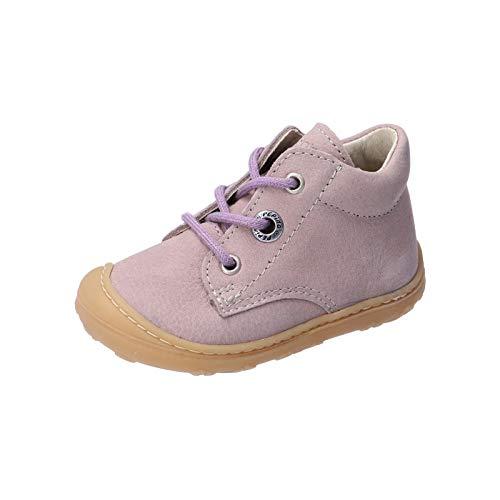 RICOSTA Mädchen Lauflern Schuhe Cory von Pepino, Weite: Mittel (WMS),terracare, Spielen verspielt detailreich Freizeit leger,Viola,21 EU / 5 Child UK