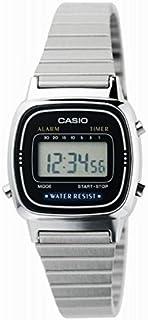 """ساعة كاسيو النسائية LA670WA-1 بنظام المنبه الرقمي"""""""