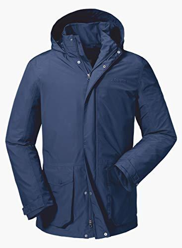 Schöffel Salt Lake City2 Water- en winddichte outdoor jas, licht en ademend all-weather jas voor mannen