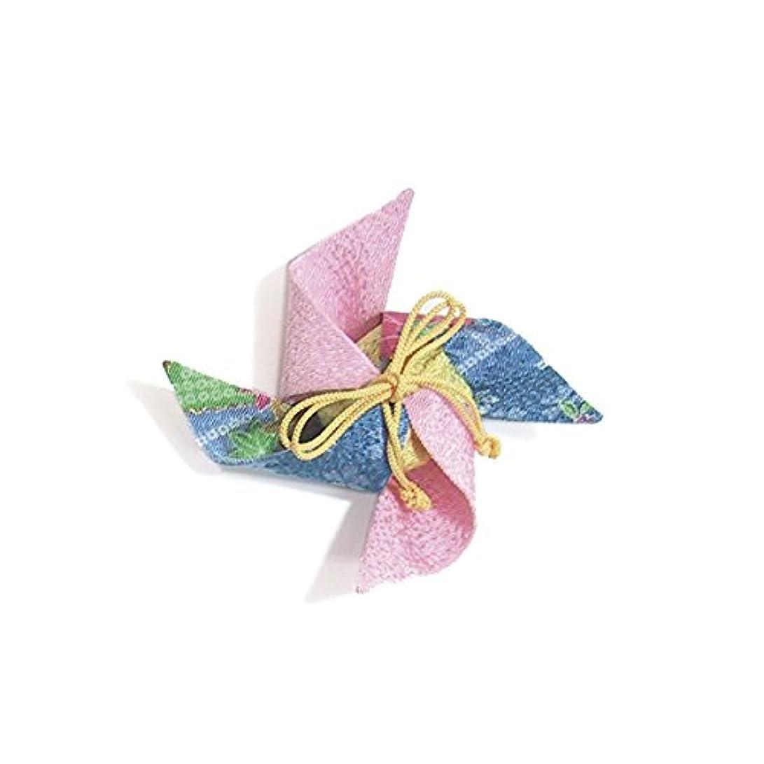 多様な子供時代砂利匂袋 風車 (ピンク)