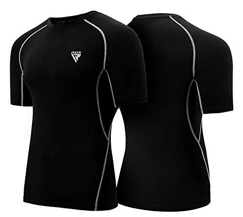 RDX Rashguard MMA Erupción Guardia Compresion Termicas Sudor Rash Vest Camisetas
