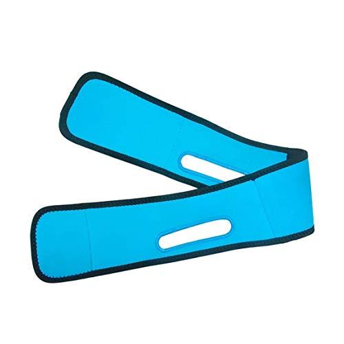 XYSQWZ Masque Visage Ceinture Minceur De Massage Artefact pour Renforcer La Contraction des Muscles du Menton Façonner Facilement V Lift Bandage Serré