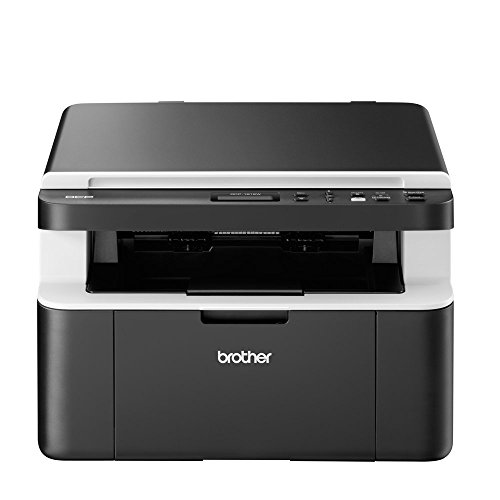 Brother DCP-1612W Mono Laser Printer - All-in-One, Wireless USB 2.0, Printer Scanner Copier, Compact, 20PPM, A4 Printer, Home Printer