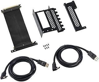 CableMod Vertical PCI-e Bracket - 2 x DisplayPort - Black …