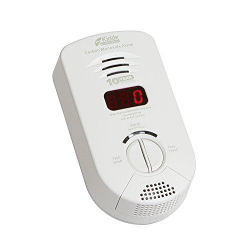 Kidde - Detector de monóxido de Carbono con batería de Litio sellada y Pantalla Digital | Modelo 900-0282 | KN-COP-DP-10YB
