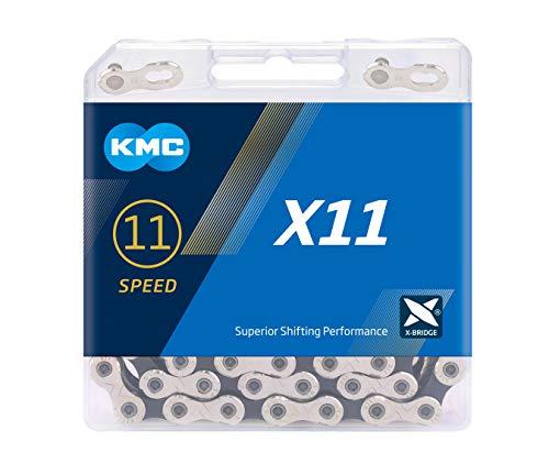 ケイエムシー(KMC) X11 11SPEED 用チェーン NP/BLACK 118L KMC-X11-SV/BK