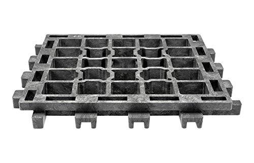Land-Grid 1m² XT45 Paddockplatten ohne Unterbau Paddockplatte Rasengitterplatten 20,99€/m²